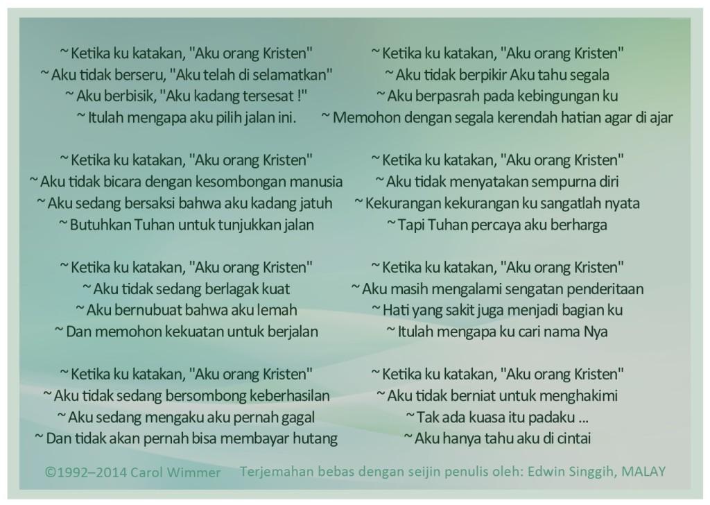 Malay Translation